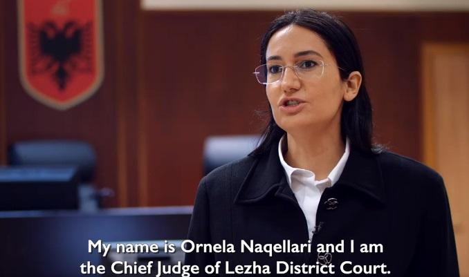 Kryegjykatesja e Lezhes Ornela Naqellari