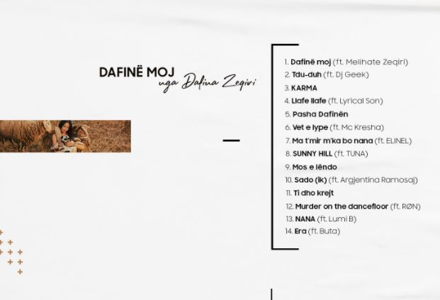 dafina zeqiri album