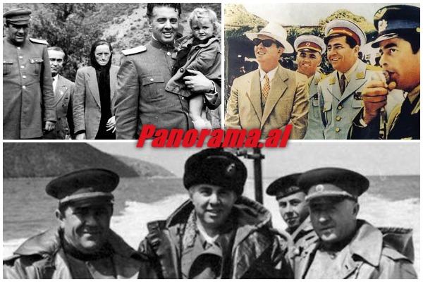Enver Hoxha--Beqir-Balluku-Denimi-deliri-kenga