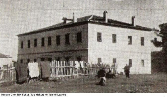Kulla e Gjon Nik Sykut (Tuç Makut) në Tale të Lezhës