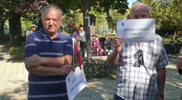 nga protesta e qytetareve ne Shkoder